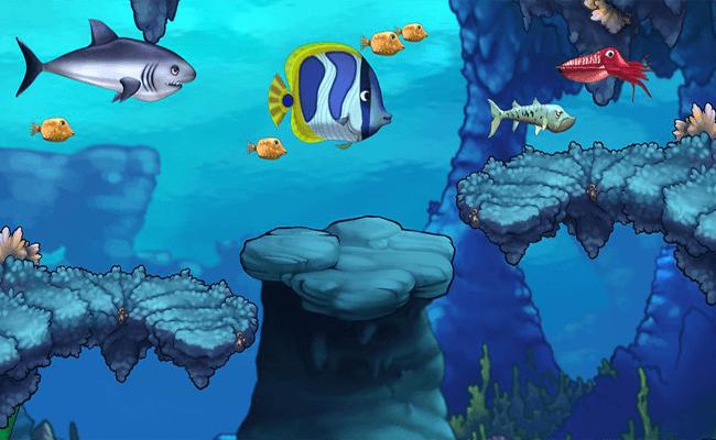 تحميل لعبة السمكه