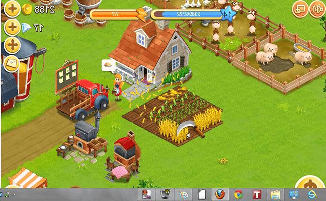 تحميل لعبة المزرعة السعيدة للكمبيوتر برابط مباشر Happy Firm جيمز
