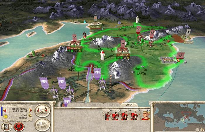 تحميل لعبة rome total war من ميديا فاير