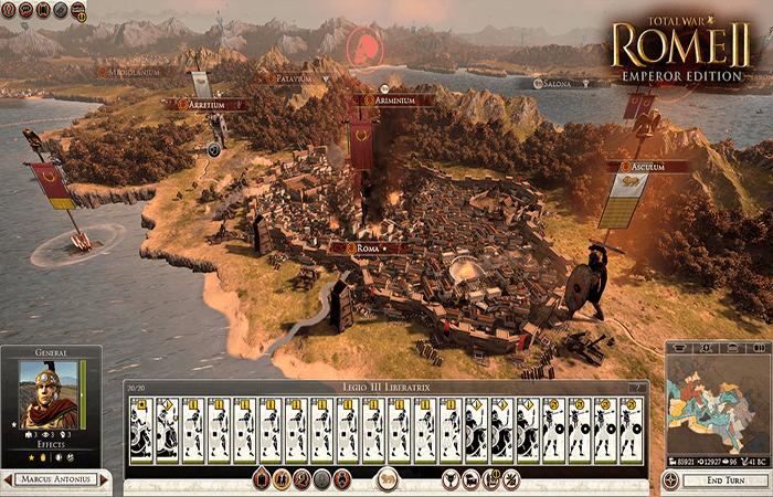 تحميل لعبة rome total war 2 من ميديا فاير