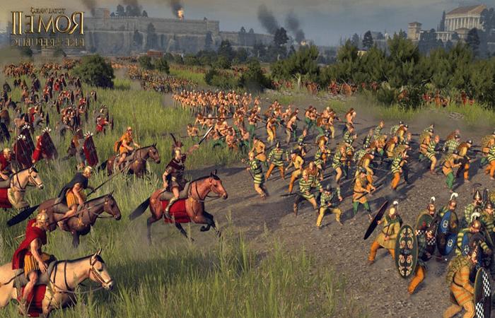 روما الحرب الشاملة