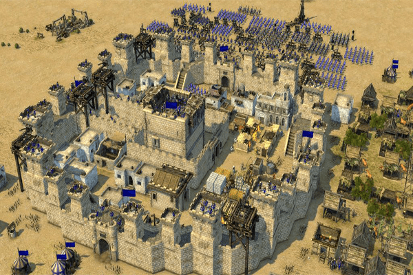تحميل لعبة stronghold crusader 3
