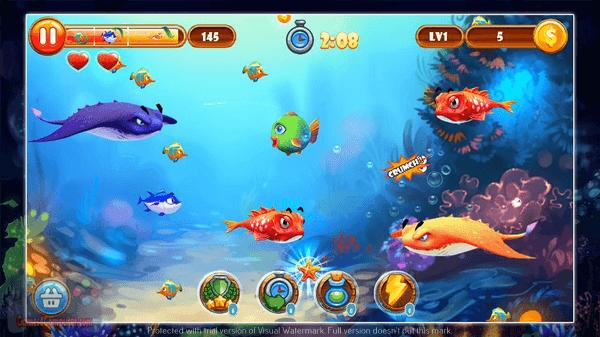 تحميل لعبة السمكة بدون تسطيب