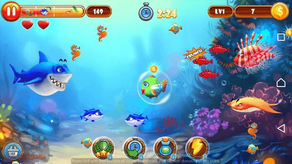 تحميل لعبة السمكة 2 كاملة