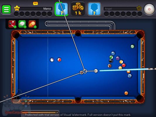 تحميل لعبة بلياردو 8 ball pool للكمبيوتر