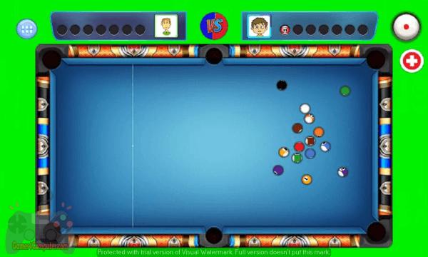 تحميل لعبة بلياردو 8 ball pool من ميديا فاير للكمبيوتر
