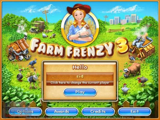 تحميل لعبة farm frenzy 3 كاملة للكمبيوتر