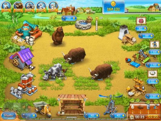 تحميل لعبة farm frenzy