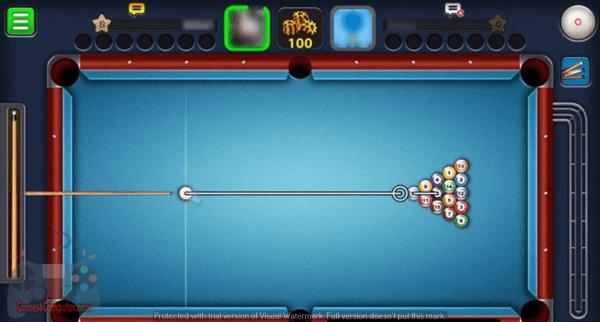 لعبة بلياردو 8 ball pool من ميديا فاير للكمبيوتر