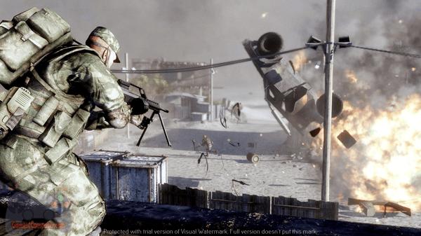 تحميل لعبة battlefield bad company 2 مضغوطة بحجم صغير