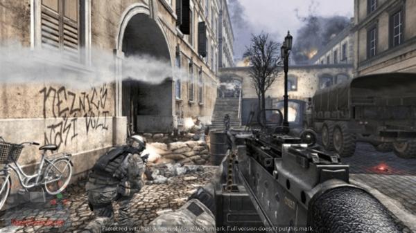 تحميل لعبة call of duty modern warfare 3 كاملة مضغوطة
