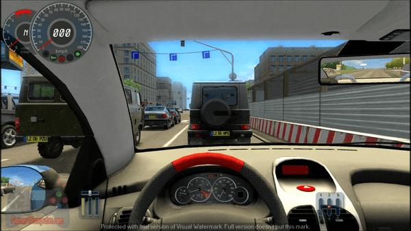 تحميل لعبة city car driving كاملة مضغوطة