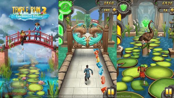 لعبة temple run للكمبيوتر